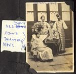 Mrs Davey Young with daughters Edna, Dorothy and Mavis
