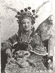 Mabel Wong (15 years old) dressed for procession in Sydney